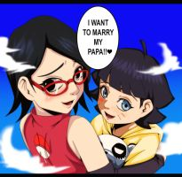 I Want to Marry My Papa by IIYametaII