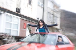 Pardis - the red car by sixhundredsixty