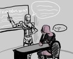 Tali gets Lectured by her Father by QuarianGypsy