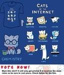 Woot Shirt - Cats Of The Internet by fablefire