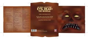 Evil Dead CD Folder - Outside by tolemach