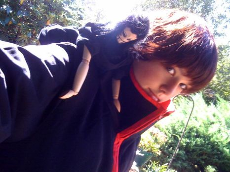 Sasori cosplay by Dannapuppetry