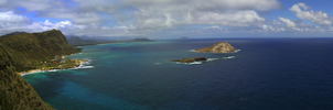 Makapu'u Lighthouse Panorama by MitchellLazear