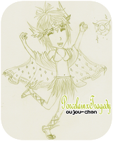 Another Gaia Commish...  -__- by oujou-chan
