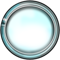 Glass Button editable stock by Obcodis