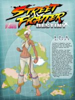 STREET FIGHTER DESTINY: LUA by Chadwick-J-Coleman