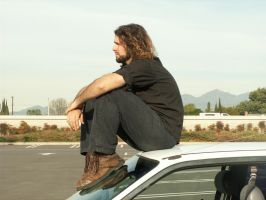 Ari and his Car 14 by AilinStock