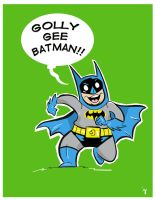 Golly Gee Batman!! by JamieCosley