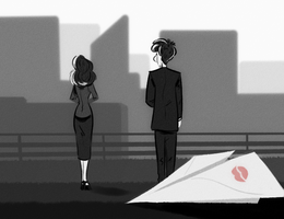 paperman by HumorlessPoppycock