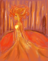 Flame Princess by StarBloop