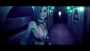 Jinx League Of Legends Wallpaper by Magic666z