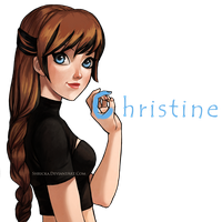 Christine (Commission) by Shricka