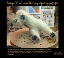 Creating a 1:12 scale armoured bear #12 by Pajutee