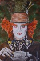 Mad Hatter by HEXEnART