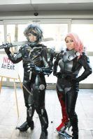 Raiden and Mistral by Cosplay4FunUltimate