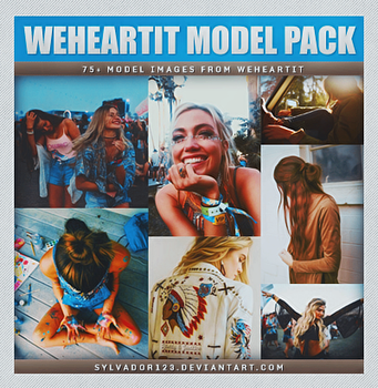 Weheartit Model Pack by sylvador123