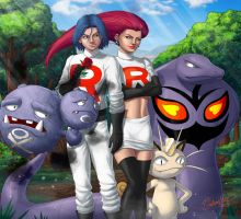 Team Rocket by gidland