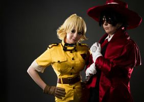 Hellsing: Tag Team by DMinorChrystalis