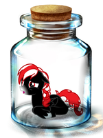 Bottled Up: Midnight Runner by Songbreeze741