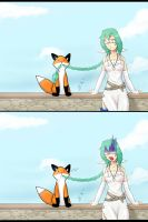 Kia loves StupidFox by Celia-Alva