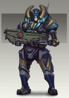 Personnel Defence Bot by Brobossa