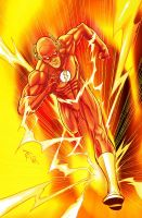 The FLASH pin-up by LegendaryRoz
