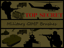 Military GIMP Brushes by Jedania