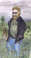 Me in the Lower Saxon Marshes by PaulEberhardt