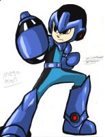 Mega Man CX by worldofhammy
