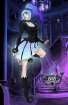 Chandelure The Magical Girl by grim-doll