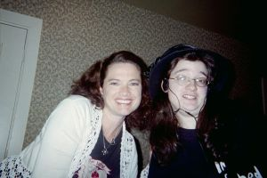 Me and Heather Langenkamp 2 by DreamRevolution