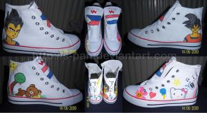 My own 'pimped up' shoes by S-Pan