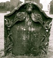 18th Century Gravestone by FalseMaria