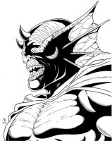 Etrigan Inked by TyndallsQuest