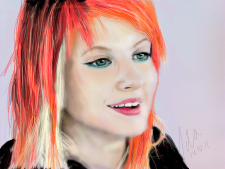 Hayley Williams by CoffeeNoise