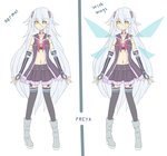 [WIP] Freya : Normal/with wings by Aruella