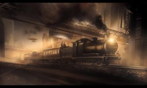 TRAIN KEPT A ROLLIN by UlricLeprovost