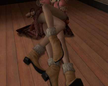 Vanille X Vanille Tangled Legs by GmodActions