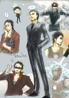 Tony Stark by orb01
