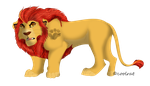 adult Kion by coolrat