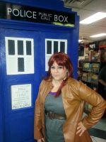Donna Noble Cosplay by sugarpoultry