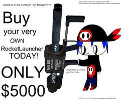 ROCKET LAUNCHER ADVERTIZEMENT by hikarixz