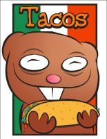 : tacos : by redpixl