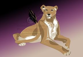 Be lioness by JonyRichardson