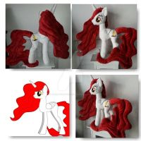 My Little Pony Princess Scarlett OC Plushie by CINNAMON-STITCH