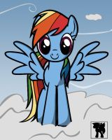 Rainbow Cloud by j5furry