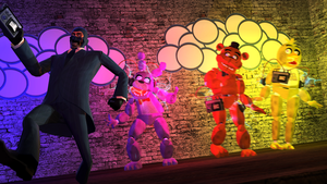 How to deal with the animatronics by WitchyGmod