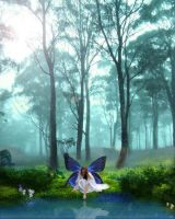 the butterfly forest by mandalorianmedjai