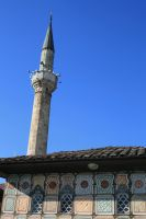 Colored mosque in Tetovo by comodore64