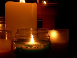 Seven Candle Set 6 by Wolfie303